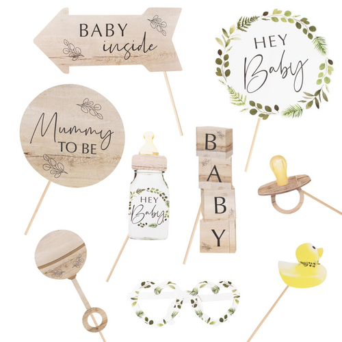 GR Botanical Baby - Photo Booth Props