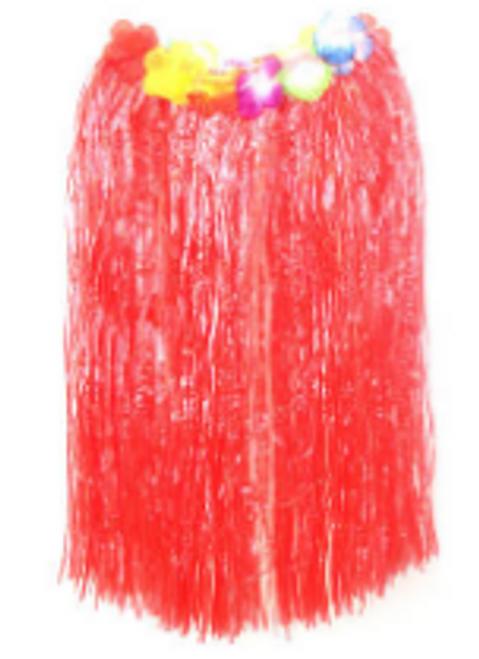 Hawaiian Skirt (L) (Red)
