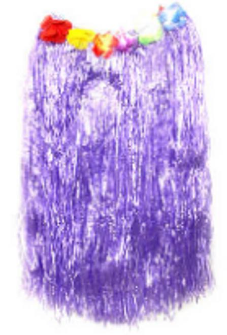 Hawaiian Skirt (L) (Purple)