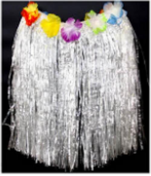 Hawaiian Skirt (M) (White)