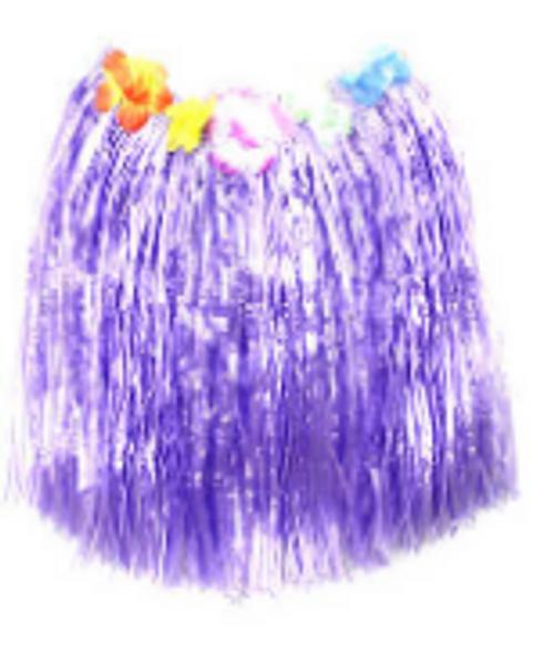 Hawaiian Skirt (M) (Purple)