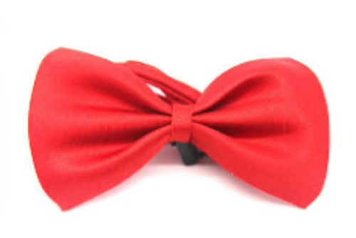Bow Tie (Plain) S (Red)