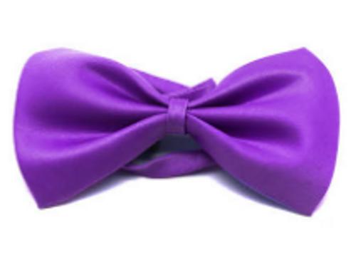 Bow Tie (Plain) S (Purple)