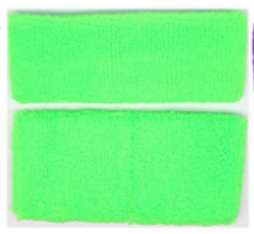 Headband & Wristband Set (Green)
