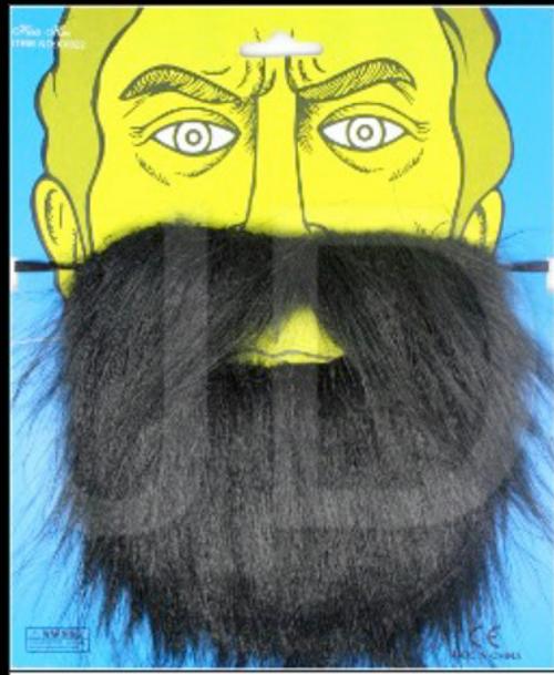Party Beard (Black)