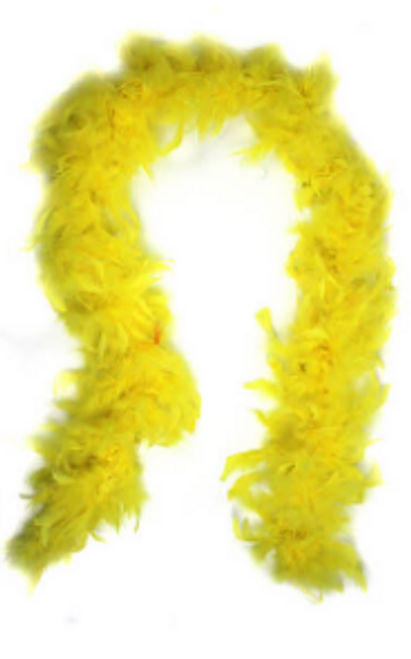 Feather Boa (Yellow)
