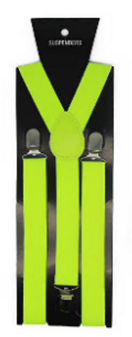 Suspender (Plain) (Fluro Yellow)