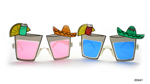 Party Glasses Mexican Shot Glass