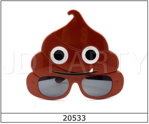 Party Glasses Poop