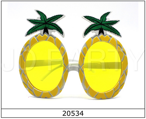 Party Glasses Pineapple