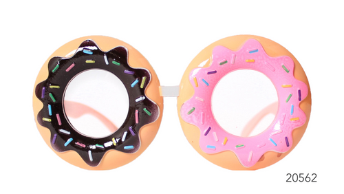 Party Glasses Donut