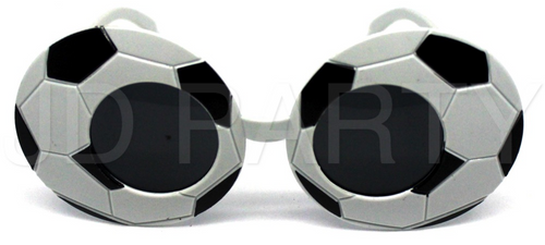 Party Glasses Soccer