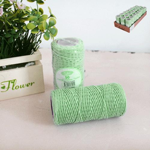 50 Metres Cotton Twine - Green