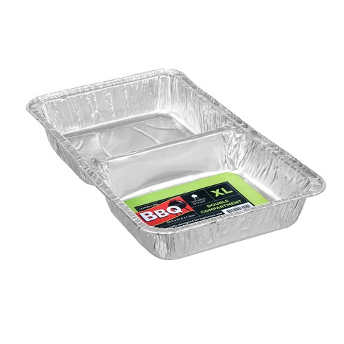 FOIL TRAY 2 SECTION XLGE