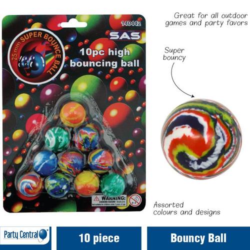 Ball Bouncy 10pk