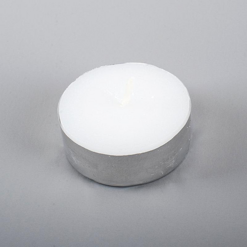 Candle Unscented Tealight 4 Hours 50pc
