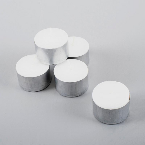Candle Unscented Tealight 9 Hour 50pc
