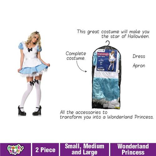Costume Adult Wonderland Princess
