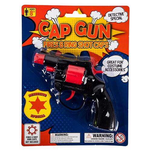 Cap Gun Super (BLACK COLOUR)