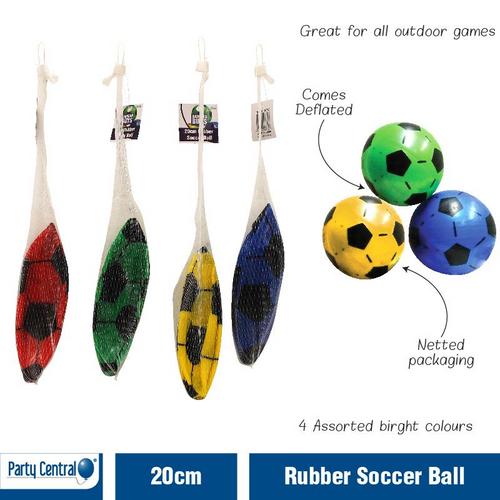 Ball - Soccer Ball Rubber 20cm