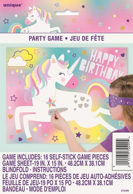 UNICORN BLINDFOLD GAME