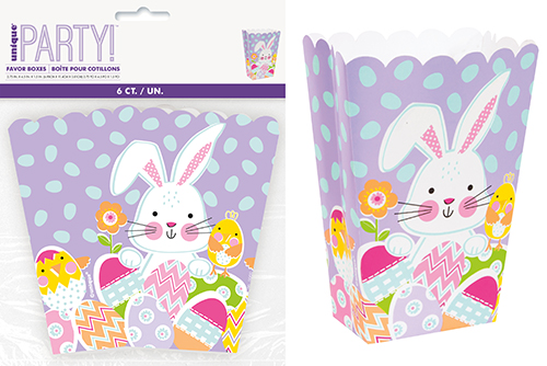 6 LILAC EASTER TREAT BOXES
