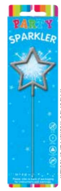 SPARKLER SHAPE STAR