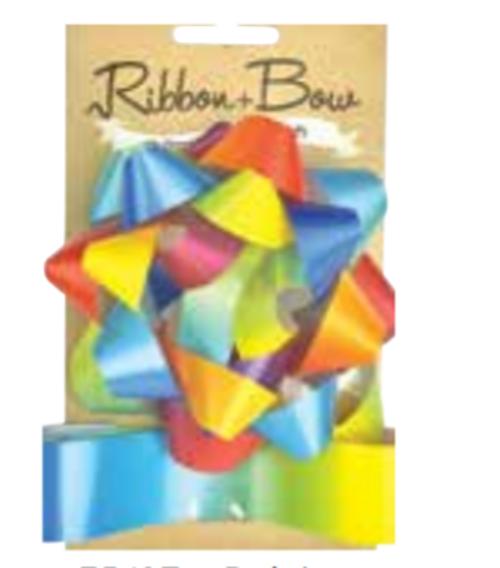 RIBB & BOW STAR RAINBOW
