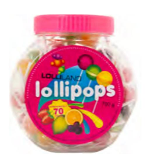 Lollipop Jar 700g