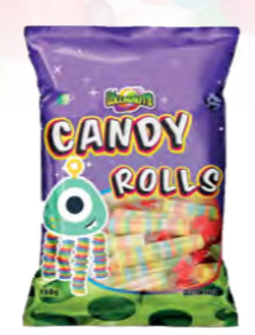L'Nauts Comp Candy Rolls 150g