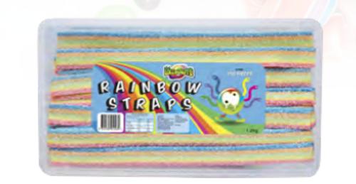 Rainbow Sour Straps 1.2kg