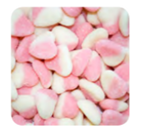 Sour Hearts Pink 1kg