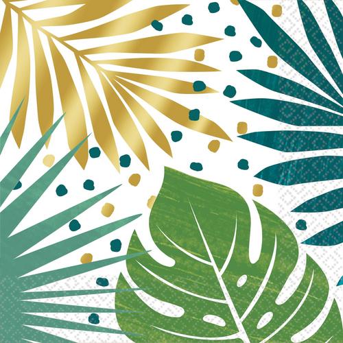 Key West L/Napkin Palm Leaf