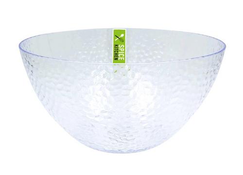 Plastic Ripple Style Large Bowl