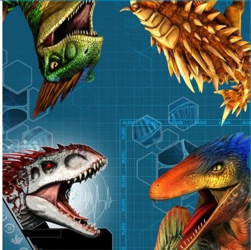 Jurassic World B/Napkin 16pk
