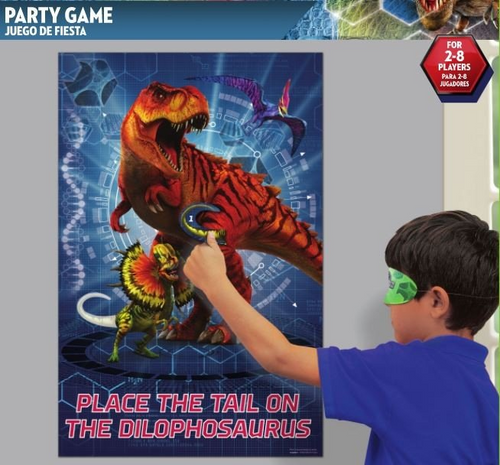 Jurassic World Party Game