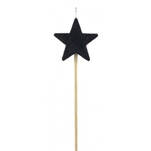 CAND. BLACK GLIT. L/stick STAR