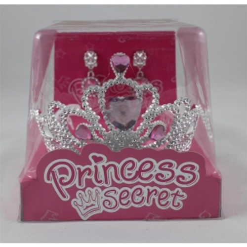 TIARA W/NECKLACE IN BOX