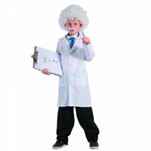 SCIENTIST - JACKET, MOUSTACHE  WIG
