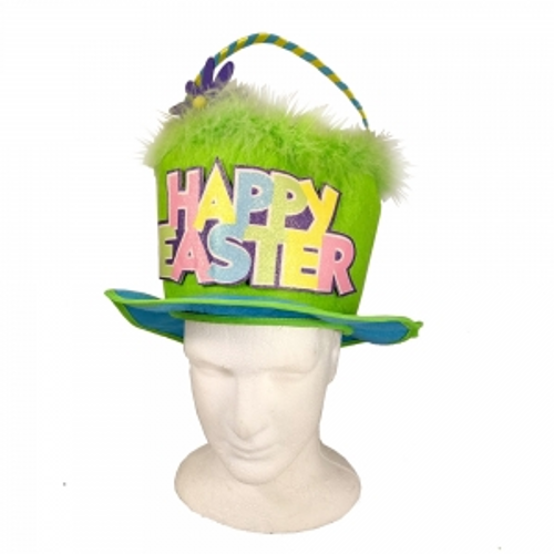 EASTER  BASKET HAT WITH HANG TAG