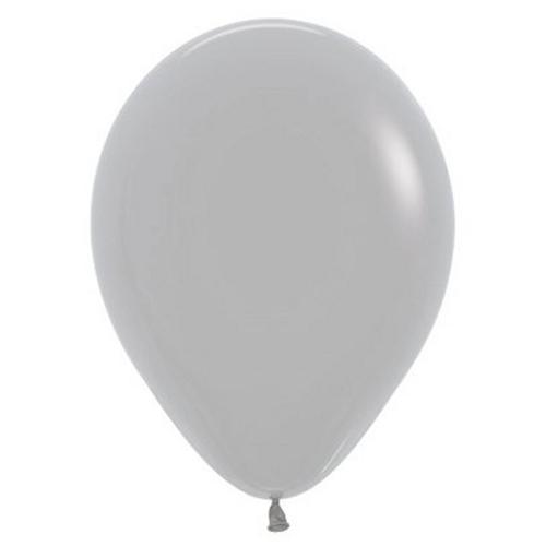 30cm Fashn Grey Ltx 081, 25PK
