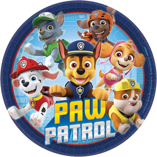 Paw Patrol Adv 7in/17.7cm Rnd