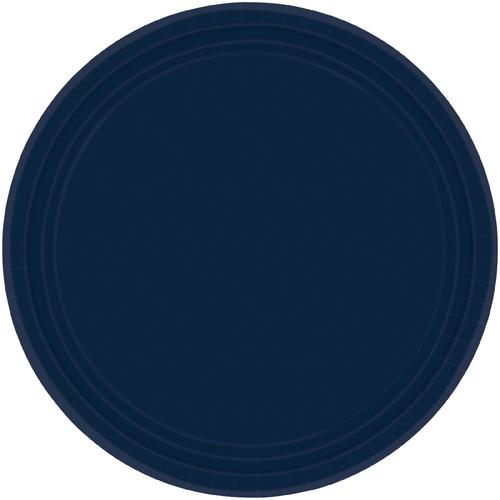 Ppr Plates 7in/17cm Rnd 20CT-N