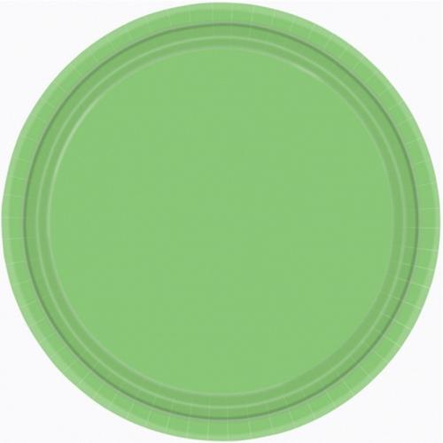 Ppr Plates 9in/23cm Rnd 20CT-K