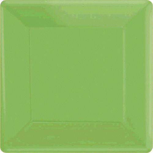 Ppr Plates 7in/17cm Squ 20CT-K