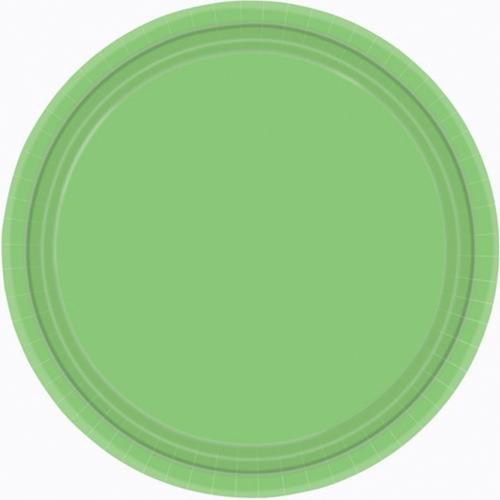 Ppr Plates 7in/17cm Rnd 20CT-K