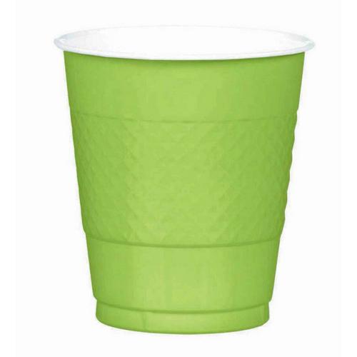 Plas Cup 355ml 20CT-Kiwi