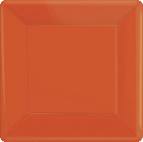 Ppr Plates 10in/26cm Squ 20CT-