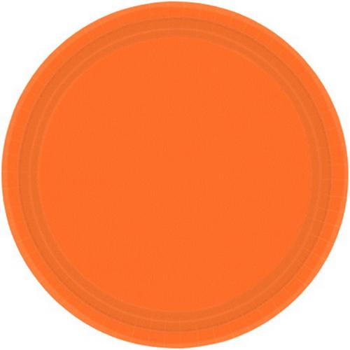 Ppr Plates 9in/23cm Rnd 20CT-O
