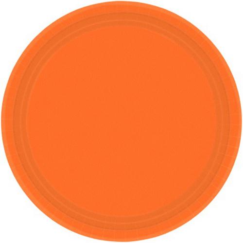 Ppr Plates 7in/17cm Rnd 20CT-O